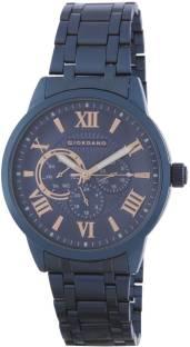 Giordano A1077-88 Blue Dial Analog Men's Watch (A1077-88)