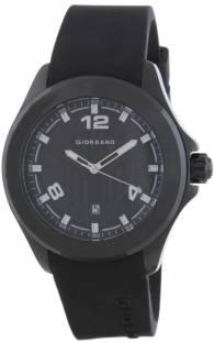 Giordano A1066-01 Black Analog Men's Watch