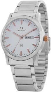 Maxima 46910CMGI Analog White Dial Men's Watch (46910CMGI)