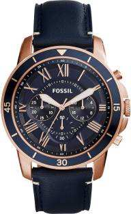 Fossil FS5237 Analog Blue Dial Men's Watch (FS5237)