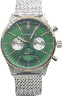 Giordano 1848-66 Green Dial Analog Men's Watch