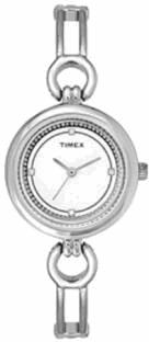 Timex TWEL11400 Fashion White Dial Color Women Watch (TWEL11400)