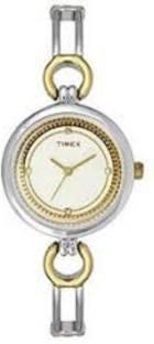 Timex TWEL11402 Fashion White Dial Color Women Watch (TWEL11402)