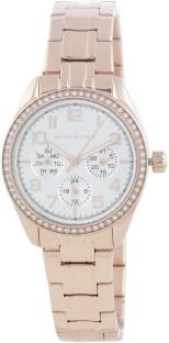 Giordano 2880-55 Silver Toned Dial Analog Women's Watch (2880-55)