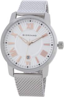 Giordano 1879-11 Silver Dial Analog Men's Watch (1879-11)