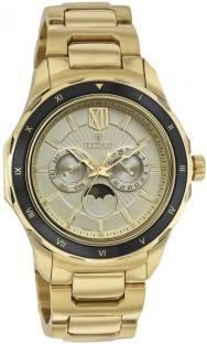 Titan 1688KM01 Analog Gold Dial Men's Watch (1688KM01)