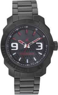 Fastrack 3168NM01 Loopholes Analog Black Dial Men's Watch (3168NM01)