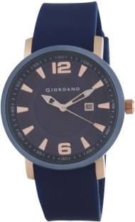 Giordano 1875-02 Blue Dial Analog Men's Watch (1875-02)
