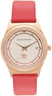 Giordano C2024-01 Off- White Dial Analog Women's Watch (C2024-01)