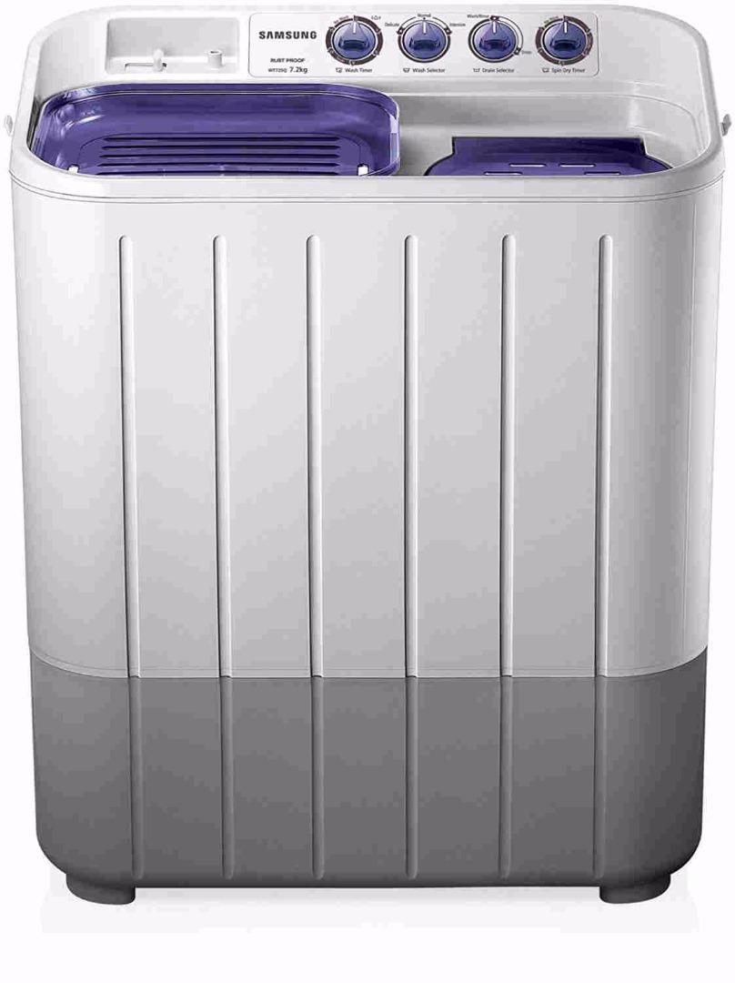 Samsung 7.2Kg Semi Automatic Top Load Washing Machine (WT725QPNDMPXTL)