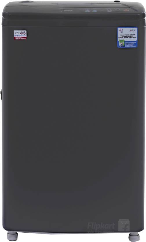 Godrej 5.8Kg Fully Automatic Top Loading Washing Machine Black (GWF 580 A, Black)
