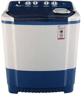 LG 8Kg Top Load Semi Automatic Washing Machine Dark Blue (P9037R3SM, Dark Blue)