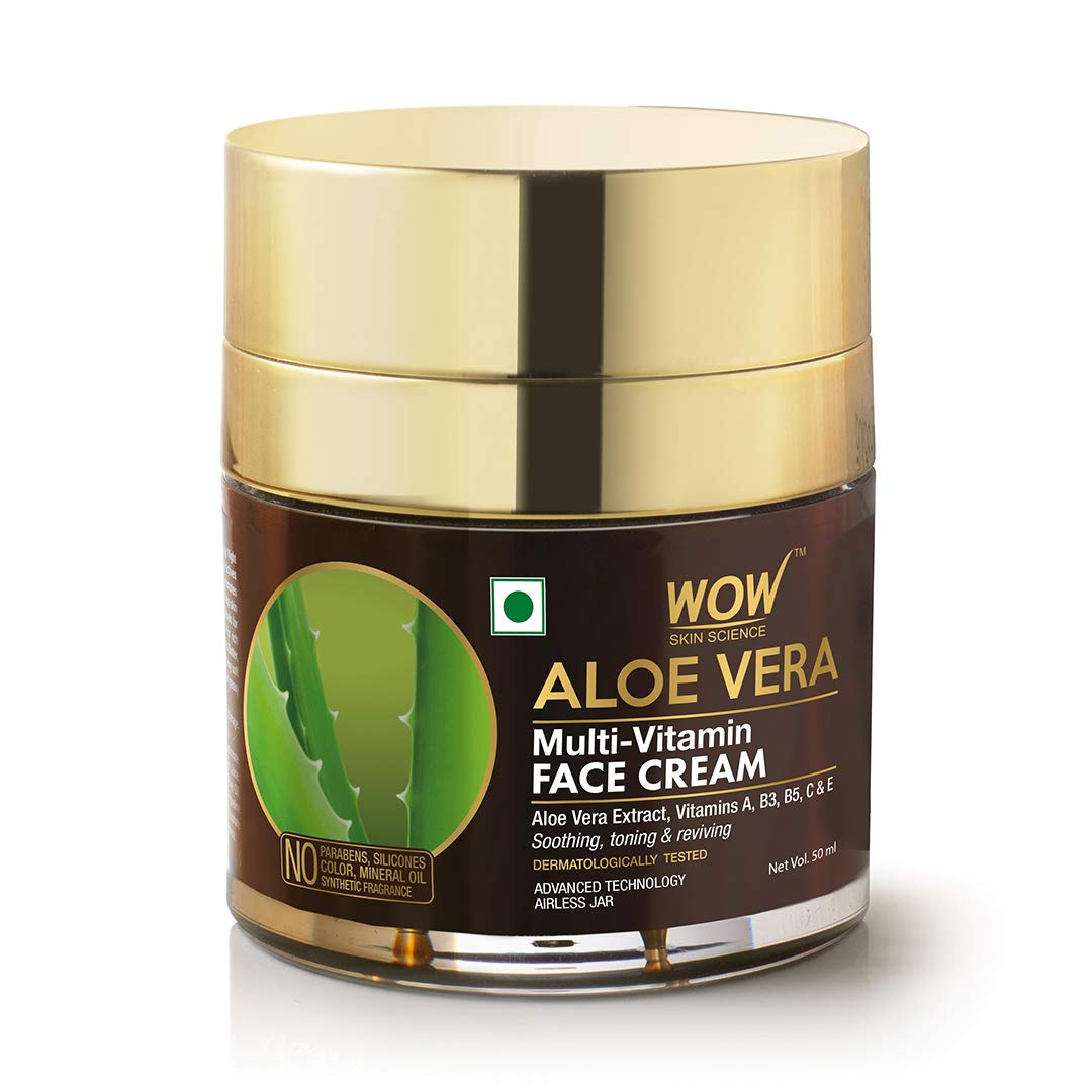 Wow Aloe Vera Multi-Vitamin Face Cream