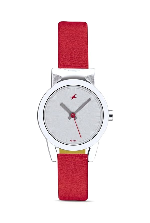 Fastrack NG6088SL02 Fits and Forms Analog Silver Dial Women's Watch (NG6088SL02)