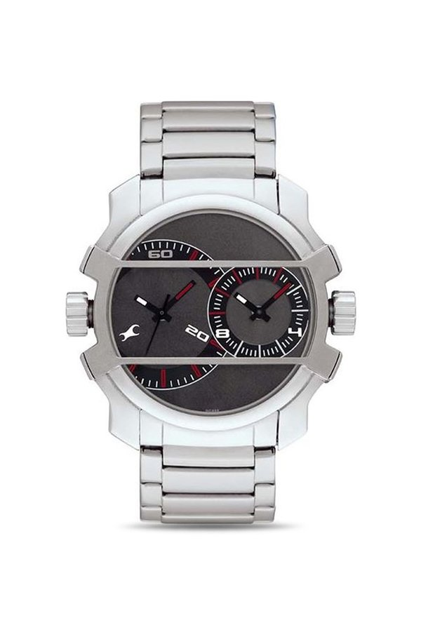 Fastrack NF3098SM01 Midnight Party Analog Grey Dial Men's Watch (NF3098SM01)