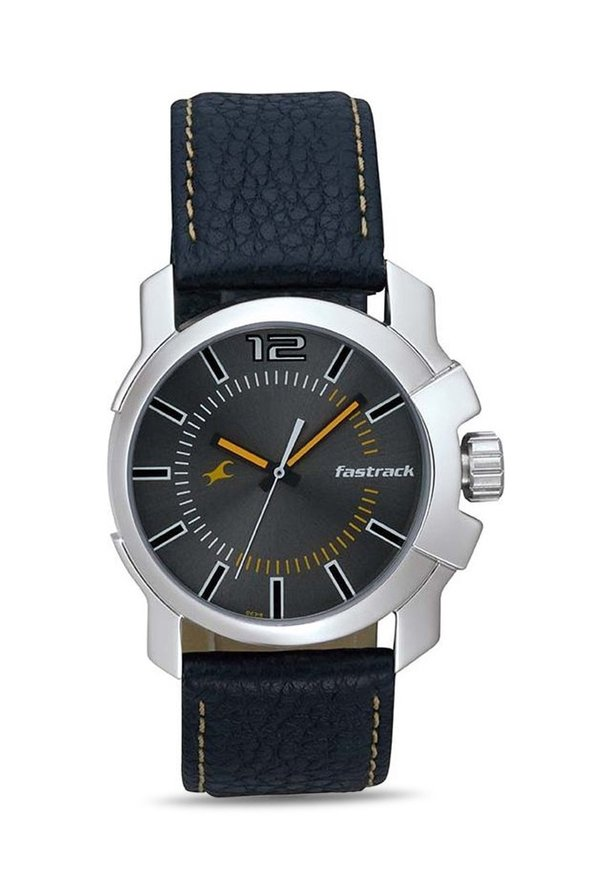 Fastrack NG3097SL01C Midnight Party Analog Black Dial Men's Watch (NG3097SL01C)