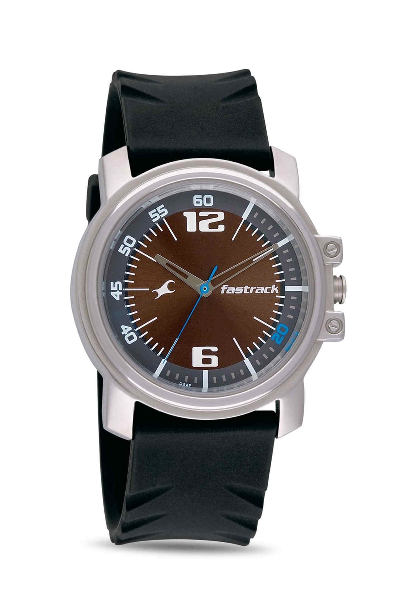 Fastrack NG3039SP01 Men Silver-Toned Analogue Men's Watch (NG3039SP01)