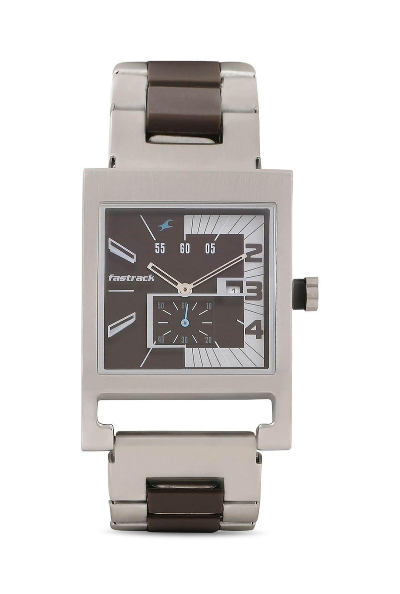 Fastrack NG1478SM02 Analog Brown Dial Men's Watch (NG1478SM02)