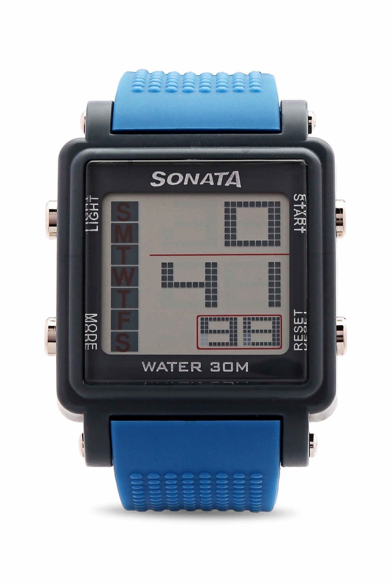 Sonata NH77043PP04 Super Fibre XI Digital Watch (NH77043PP04)