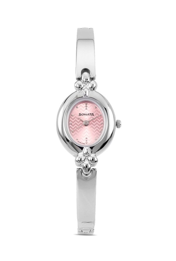 Sonata 8093SM02 Professional Analog Pink Dial Women's Watch (8093SM02)