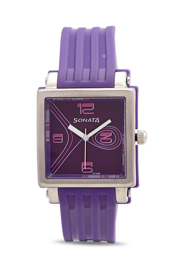 Sonata NH8990PP01J Fashion Fibre Analog Women's Watch (NH8990PP01J)