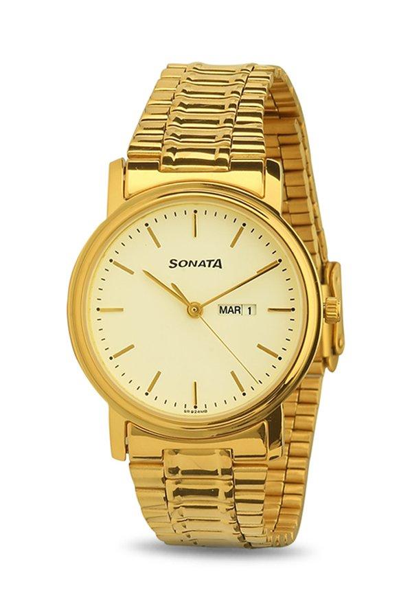Sonata NF1013YM09 Analog Men's Watch (NF1013YM09)