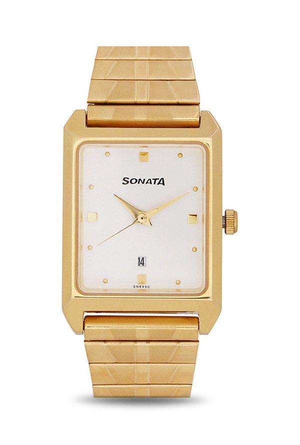 Sonata NF7007YM01A Analog Men's Watch (NF7007YM01A)