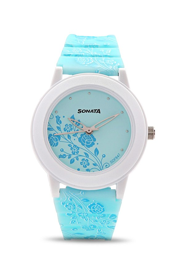 Sonata 8992PP06 Analog Multi Colour Dial Women's Watch (8992PP06)