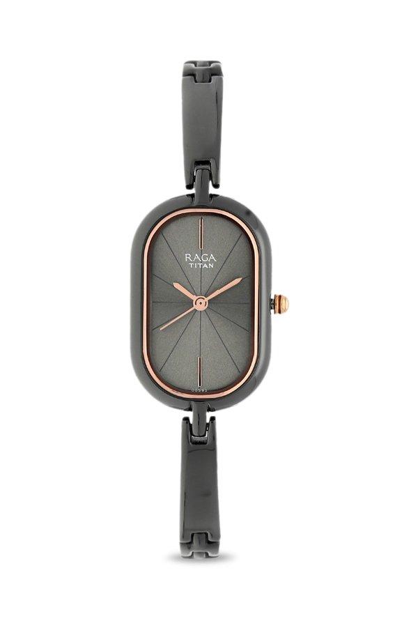 Titan Raga 2577QM01 Viva Analog Silver Dial Women's Watch (2577QM01)