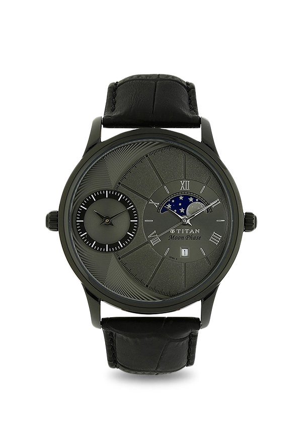 Titan 1710NL01 Analog Grey Dial Men's Watch (1710NL01)