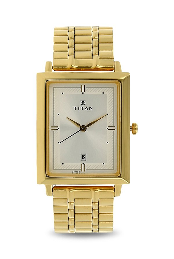 Titan 1715YM01 Analog White Dial Men's Watch (1715YM01)