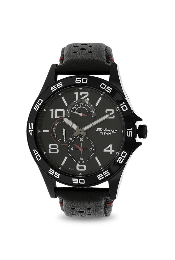 Titan 1702NL01 Analog Black Dial Men's Watch (1702NL01)
