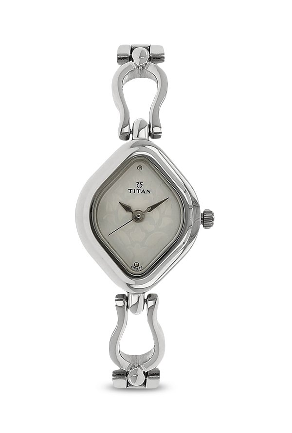 Titan 2536SM02 Analog Silver Dial Women's Watch (2536SM02)