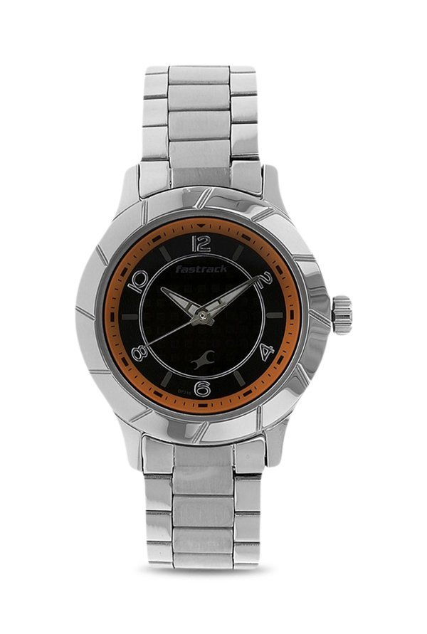 Fastrack 6139SM01 Analog Black Dial Women's Watch (6139SM01)