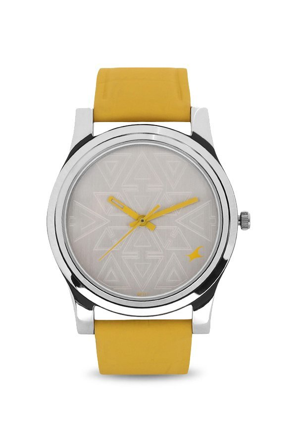 Fastrack NK6046SL03 Silver Toned Analogue Women's Watch (NK6046SL03)
