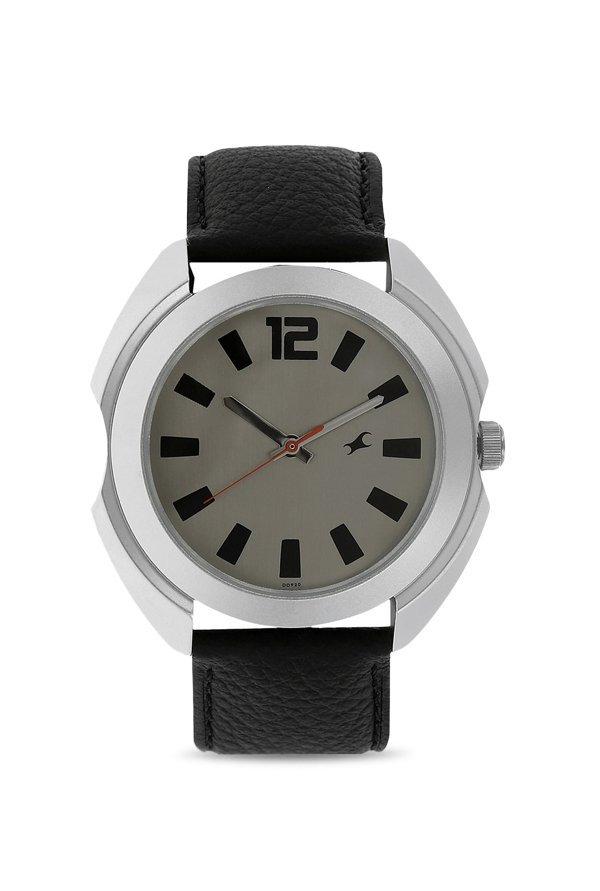 Fastrack 3117SL02 Analog Grey Dial Men's Watch (3117SL02)