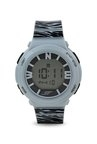 Sonata 87016PP03 Ocean Series Women Grey Printed Digital Watch