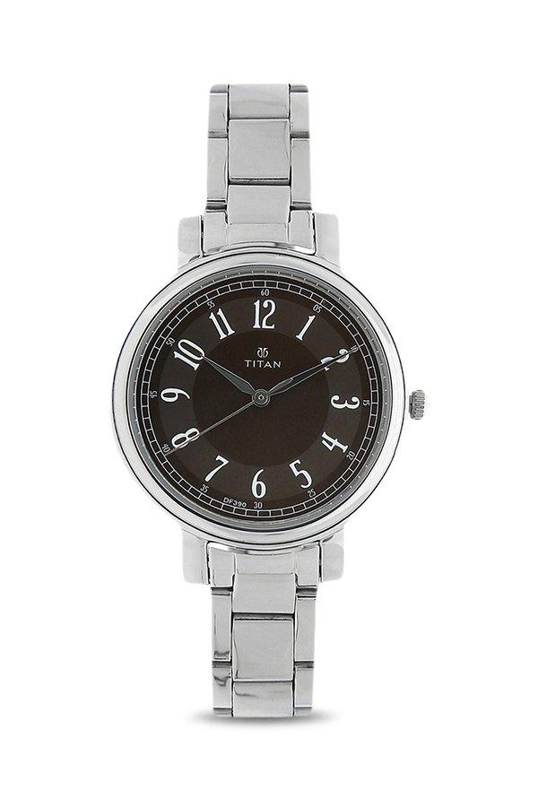 Titan 2554SM02 Analog Brown Dial Women's Watch (2554SM02)