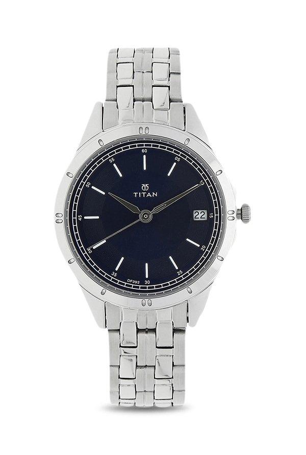 Titan 2556SM02 Analog Blue Dial Women's Watch (2556SM02)