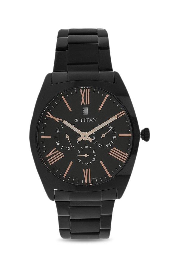 Titan 9476NM01 Black Multifunction Dial Men's Watch (9476NM01)
