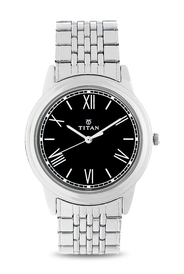 Titan 1735SM02 Analog Black Dial Men's Watch (1735SM02)
