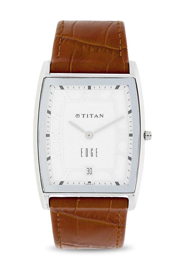 Titan 1684SL01 Analog White Dial Men's Watch (1684SL01)