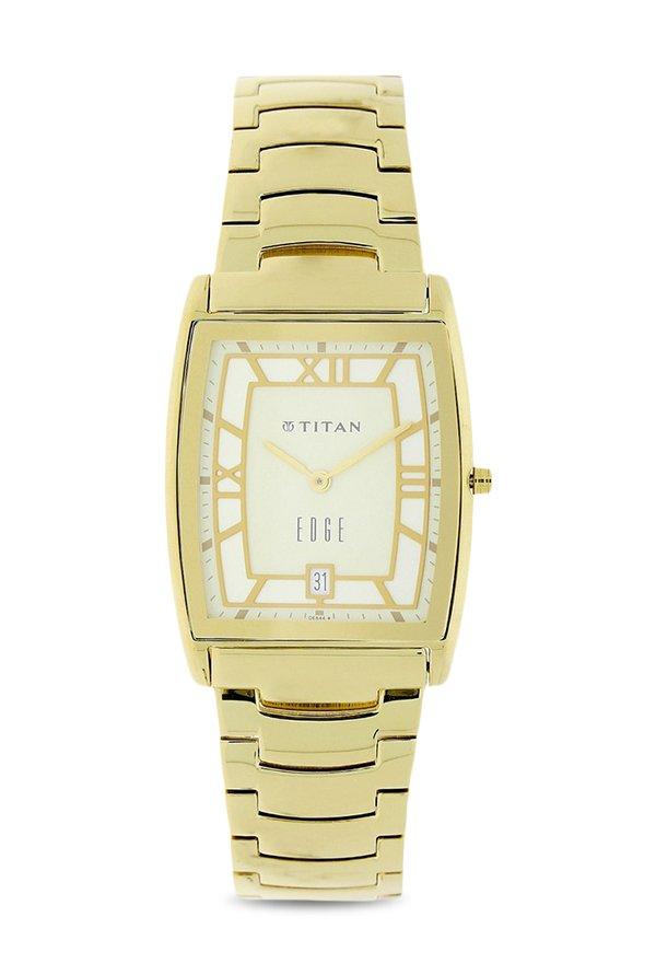 Titan 1684YM01 Analog White Dial Men's Watch (1684YM01)