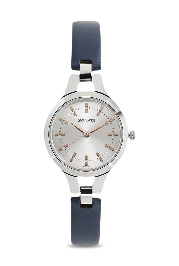 Sonata 8151SL01 Steel Analog Women's Watch (8151SL01)