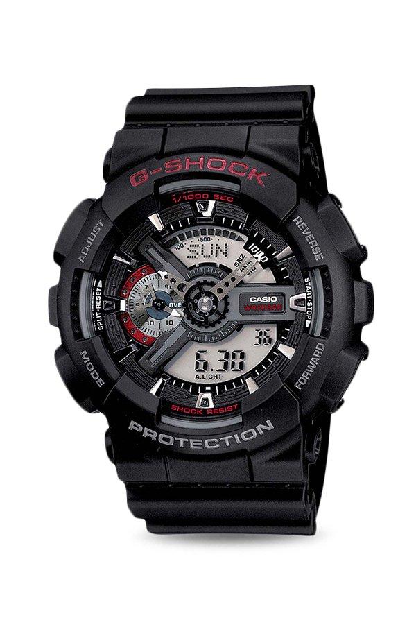 Casio GA-110-1ADR G- Shock Analog Digital Watch For Men (GA-110-1ADR G-)