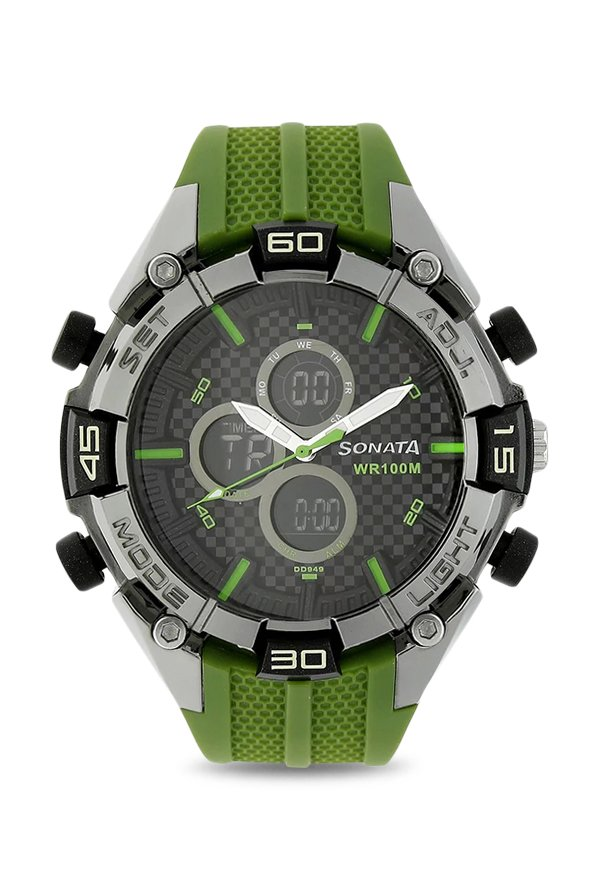 Sonata NK77028PP02 SF Analog Digital Men's Watch (NK77028PP02)
