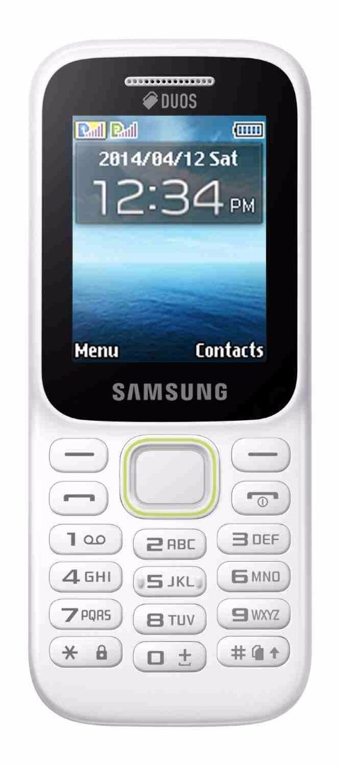 Samsung Guru Music 2 (Samsung SM-B310E) 128MB White Mobile