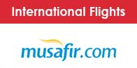 Musafir International Flights