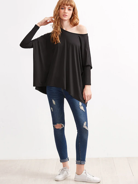 Over-sized Full Sleeve T-shirt