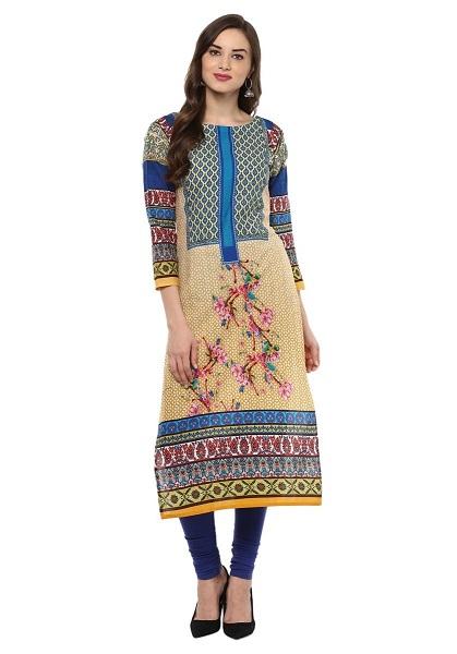 Pakistani Digital Printed Designer Cotton Kurti